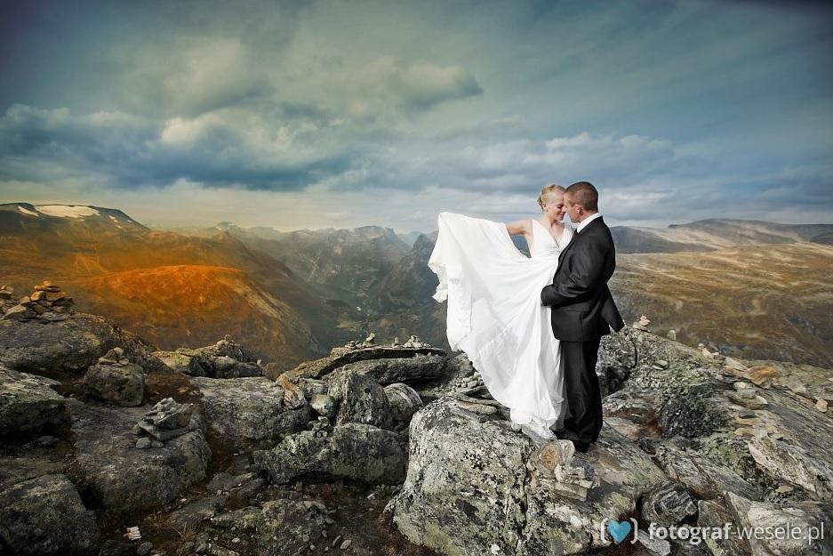 Sesja ślubna W Górach Fotograf Weselepl